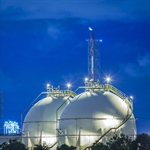 Russell NDE Completes Gas Storage Sphere Inspection Project