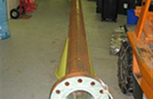Epoxy lined pipelines